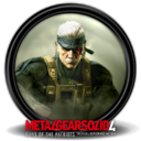 128x128px size png icon of Metal Gear Solid 4 GOTP 8