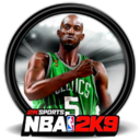128x128px size png icon of NBA 2K9 1