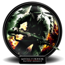 128x128px size png icon of Medal of Honor Pacific Assault new 1