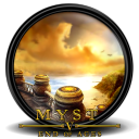 128x128px size png icon of Myst V End of Ages 1