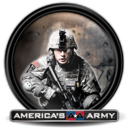 128x128px size png icon of America s Army 3 6