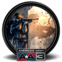 128x128px size png icon of America s Army 3 7