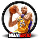 128x128px size png icon of NBA 2K10 3