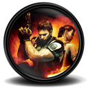 128x128px size png icon of Resident Evil 5 2