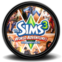 128x128px size png icon of The Sims 3 World Adventures 2