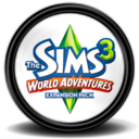 128x128px size png icon of The Sims 3 World Adventures 4