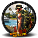 128x128px size png icon of Brigade High Caliber 7 62 1