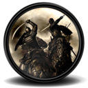 128x128px size png icon of Mount Blade Warband 2