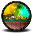 128x128px size png icon of Hedgewars 2