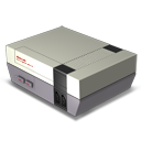 128x128px size png icon of Nes Console