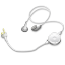 128x128px size png icon of Headphones psp