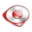 128x128px size png icon of Umd Red
