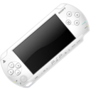 128x128px size png icon of White PSP 2