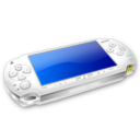 128x128px size png icon of White PSP