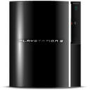 128x128px size png icon of Black Play Station 3