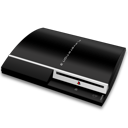 128x128px size png icon of PS3 fat hor