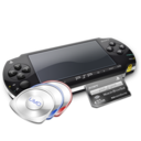 128x128px size png icon of Psp umds mc