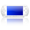 128x128px size png icon of Psp white 2 3
