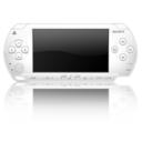 128x128px size png icon of Psp white 3