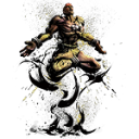 128x128px size png icon of Dhalsim