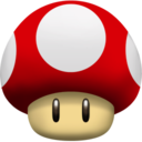 128x128px size png icon of Mushroom Super