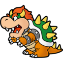Paper Bowser Icon