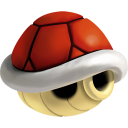 128x128px size png icon of shell red