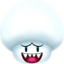 128x128px size png icon of Boo Mushroom