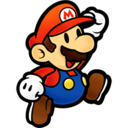 128x128px size png icon of Super Paper Mario