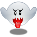 128x128px size png icon of Boo
