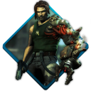 128x128px size png icon of bionic commando