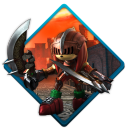128x128px size png icon of sonic black knight