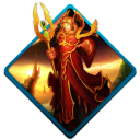 128x128px size png icon of wow blood elf