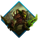 128x128px size png icon of wow goblin