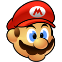 128x128px size png icon of Mario