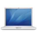 128x128px size png icon of ibook g4 14