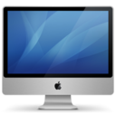 128x128px size png icon of imac aluminum