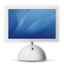 128x128px size png icon of imac g4