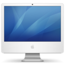 128x128px size png icon of imac iSight