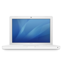 macbook white Icon