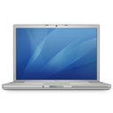 128x128px size png icon of macbookpro 15