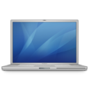 128x128px size png icon of powerbook g4 15