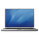 128x128px size png icon of powerbook g4 titanium