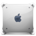 128x128px size png icon of powermac g4 graphite