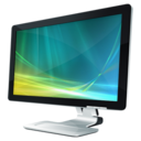 128x128px size png icon of Monitor Vista