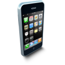 128x128px size png icon of iPhoneStanding