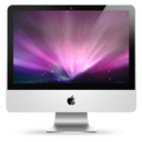 128x128px size png icon of iMac 24 ON