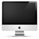 128x128px size png icon of iMac 24