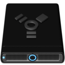 Blue Firewire Icon