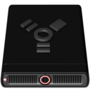 128x128px size png icon of Red Firewire